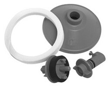Mountain Plumbing BDR/TESTKIT1 Bath Waste & Overflow Pressure Test Kit