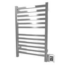 "Amba Quadro Q-2033-P 20"" W x 33"" H Towel Warmer & Space Heater - Polished Stainless"