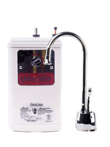 Waste King H711-U-CH Quick & Hot Water Dispenser Faucet  & Tank - Chrome
