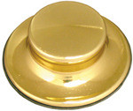 Waste King 3161 Decorator Garbage Disposer Flange Stopper - 3-Bolt - Brass