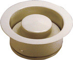 Waste King 3153 Decorator Disposer Flange & Stopper - 3-Bolt - Almond
