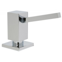 Mountain Plumbing MT106 BRN Square Soap/Lotion Dispenser - Brushed Nickel