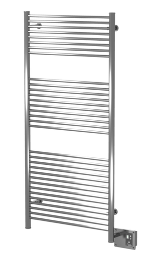 "Amba Antus A-2856-B 28"" W x 56"" H Towel Warmer & Space Heater - Brushed Stainless"