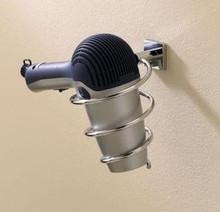 Valsan Braga 67693CR Hair Dryer Holder - Wall Mounted - Chrome