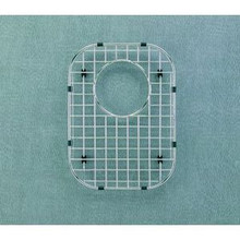 "Houzer WireCraft BG-1400 9 5/8"" x 13 1/8"" Bottom Grid for Sink - Stainless Steel"