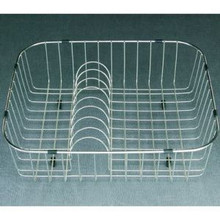 "Houzer WireCraft RB-2400 Dishes Rinsing Basket for Sink - Stainless Steel 19-1/4"" x 16-1/4"" x 5-1/2"""