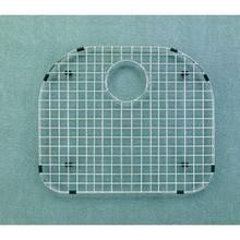 """Houzer WireCraft BG-2400 19 5/6"""" x 16 3/4"""" Bottom Grid for Sink - Stainless Steel"""