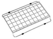 "Houzer WireCraft BG-1208 Wire Rinsing Rack - Contempo Sink - Stainless Steel 12"" x 8-1/2"" x 1"""