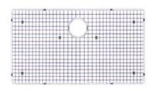"""Houzer WireCraft BG-4320 29 1/2"""" x 15 1/2"""" Bottom Grid for Sink - Stainless Steel"""
