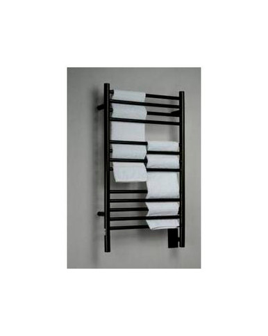 "Amba Jeeves CSO-20 Model C 20-1/2"" W x 36"" H Straight Electric Heated Towel Warmer - Oil Rubbed Bronze"