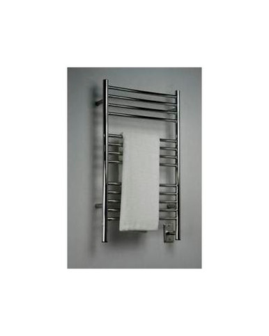 "Amba Jeeves CSP-20 Model C 20-1/2"" W x 36"" H Straight Electric Heated Towel Warmer -Polished Stainless"