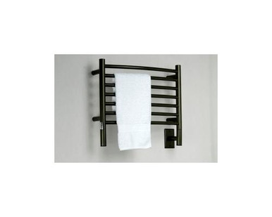 "Amba Jeeves HCO-20 Model H 20-1/2"" W x 18"" H Curved Electric Heated Towel Warmer - Oil Rubbed Bronze"