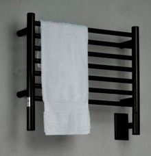 "Amba Jeeves HSO-20 Model H 20-1/2"" W x 18"" H Straight Electric Heated Towel Warmer - Oil Rubbed Bronze"