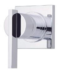 Danze D560944T One Handle Transfer Valve 4-Port Shower Diverter / Volume Control Valve Trim - Chrome