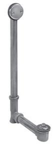 Mountain Plumbing HBDWLT22 SC Lift & Turn Bath Waste & Overflow Kit - Satin Chrome
