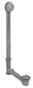 Mountain Plumbing HBDWLT22 PVD Brass Lift & Turn Bath Waste & Overflow Kit - Polished Brass