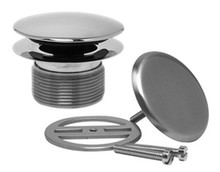 Mountain Plumbing UNVTRIM CPB Bath Waste & Overflow Trim Kit - Polished Chrome
