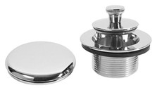 Mountain Plumbing UNVLT CPB Bath Waste & Overflow Trim Kit - Polished Chrome