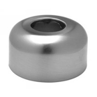 Mountain Plumbing MT314X SC High Box P-Trap Flange - Satin Chrome