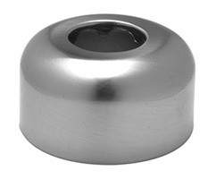 Mountain Plumbing MT314X BRN High Box  P-Trap Flange - Brushed Nickel