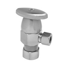 Mountain Plumbing MT6003-NL/SB Oval Handle Angle Valve -  Satin Brass