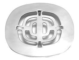 Mountain Plumbing MT239 CPB Grid Shower Drain - Polished Chrome