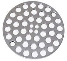 Mountain Plumbing MT238 CPB Grid Shower Drain - Polished Chrome
