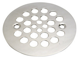 Mountain Plumbing MT245 PN Grid Shower Drain - Polished Nickel