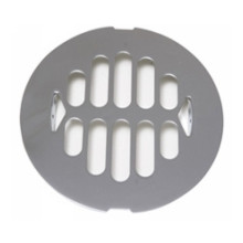 Mountain Plumbing MT240 SC Snap In Grid Shower Drain - Satin Chrome