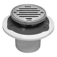 Mountain Plumbing MT507P ORB Brass Grid Shower Drain - Oil Rubbed Bronze
