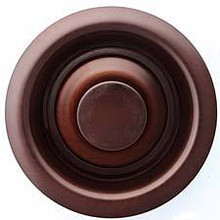 "Linkasink D007 DB 3 1/2"" Disposal Flange and Stopper - Dark Bronze"