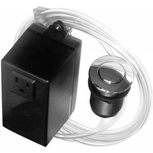 Westbrass ASB 26 Disposal Air Switch - Chrome