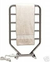 Warmrails RH Traditional RTC Towel Warmer and Dryer - Freestanding or Wall Mount - Polished Chrome