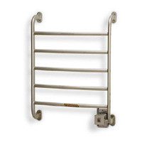 Warmrails Regent HSRS Wall Mounted Towel Warmer & Drying Rack - Hard or Soft Wired - Satin Nickel