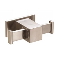 Danze Sirius D446137BN Double Robe Hook - Brushed Nickel