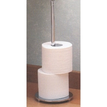 Valsan Essentials 53530CR Freestanding Spare Tissue Paper Holder-Chrome