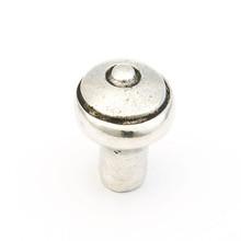 "Schaub 134-N Perla Round Door Knob 1-3/8"" diam - Natural"