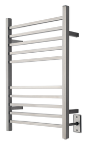 Amba RSWH-B Hardwired Radiant Square Towel Warmer - Brushed Stainless