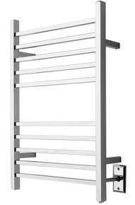 Amba RSWP-B Plug-In Radiant Square Towel Warmer - Brushed Stainless