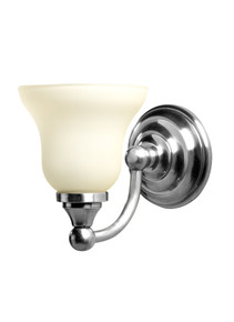 Valsan 30968ES Kingston Bathroom Single Wall Light - Satin Nickel