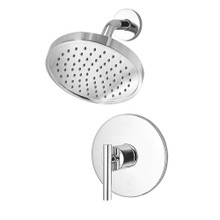 Price Pfister G89-7NCC Contempra Shower Faucet Trim with Single Function Rain Shower Head - Polished Chrome