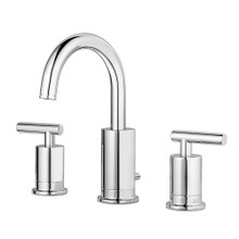 Price Pfister GT49-NC1C Contempra Two Handle Widespread Bathroom Faucet with Metal Pop-Up Assembly - Polished Chrome