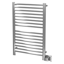 Amba Sirio S-2942-B 29'' x 43'' Towel Warmer & Space Heater - 16 Bars - Brushed Stainless