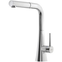 Hamat 3-4665-SS Single Handle Pull Down Spray Kitchen Faucet - Polished Chrome