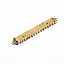 """Schaub 763-ALP Versailles Backplate for Door Pull 96 mm (3.78"""") cc - Antique Light Polish"""