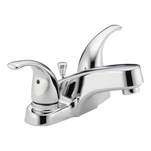 Peerless P299628LF-M Two Lever Handle Centerset Lavatory Faucet with Metal Pop Up Drain - Chrome