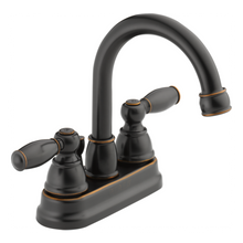 Peerless P299685LF-OB Two Lever Handle Centerset Lavatory Faucet - Rubbed Bronze