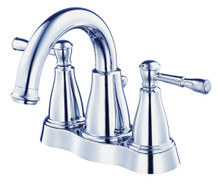 Danze D301115 Eastham Two Handle Centerset Lavatory Faucet 1.2gpm - Chrome