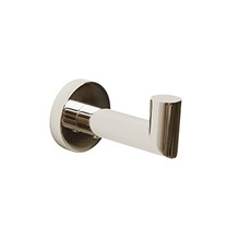 Valsan Porto Robe Hook - Polished Nickel
