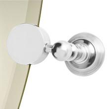 Valsan Kingston Mirror Support - Unlacquered Brass